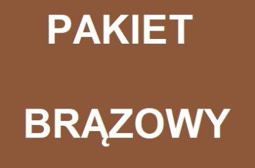 PAKIET BRĄZOWY